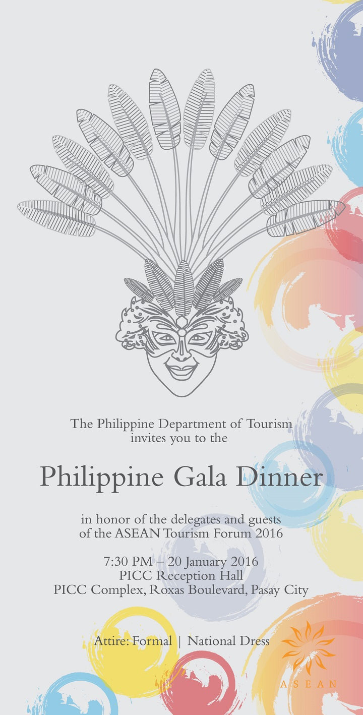 Invitation to Welcome Reception & Dinner